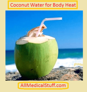 coconut water for summer
