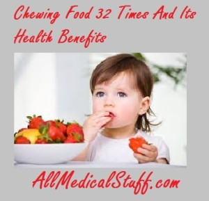 chewing food 32 times and weight loss