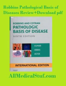 robbins pathological basis of diseases pdf