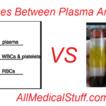 differences between plasma and serum