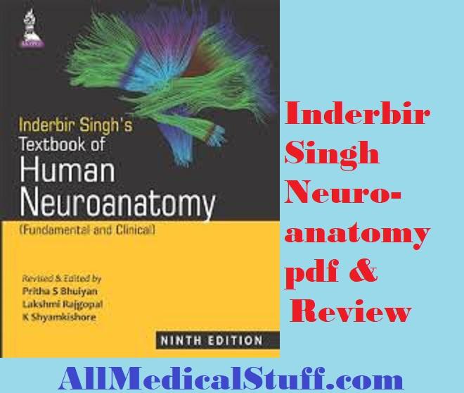 Inderbir Singh Neuroanatomy pdf